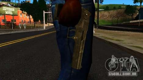 Desert Eagle from GTA 4 para GTA San Andreas terceira tela