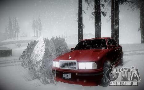 Inverno ENBSeries para GTA San Andreas segunda tela
