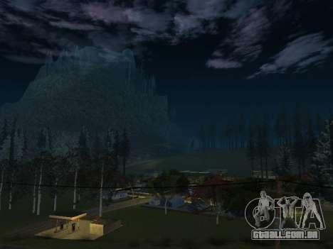 Real California Timecyc para GTA San Andreas segunda tela