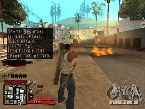 C-HUD Yakuza para GTA San Andreas sexta tela