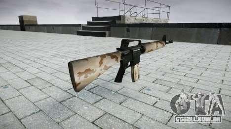 O M16A2 rifle saara para GTA 4