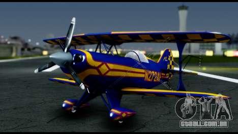 Alabeo PITTS S2S Blue para GTA San Andreas