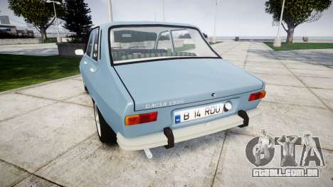 Dacia 1300 v2.0 para GTA 4 traseira esquerda vista