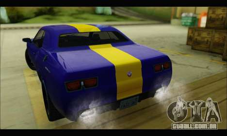 Bravado Gauntlet (GTA V) para GTA San Andreas vista direita