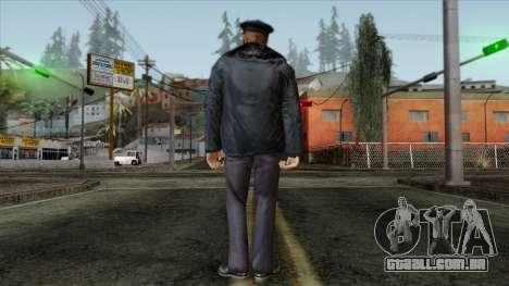 Police Skin 11 para GTA San Andreas segunda tela