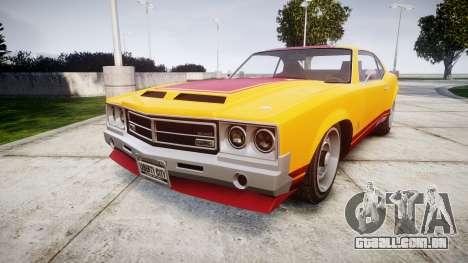 Declasse Sabre GT Little Wheel para GTA 4