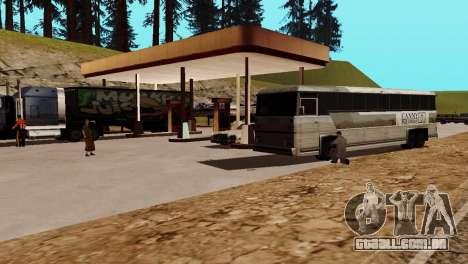 Recuperação de estações de San Fierro País para GTA San Andreas décimo tela