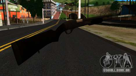Preto MP-133 Sem Brilho para GTA San Andreas segunda tela