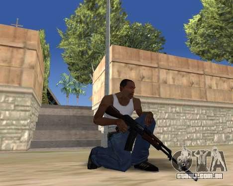 HD Weapon Pack para GTA San Andreas oitavo tela