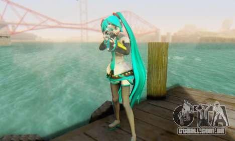 Hatsune Miku Dreamy Theater para GTA San Andreas por diante tela