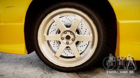 Nissan Onevia S14 para GTA 4 vista de volta