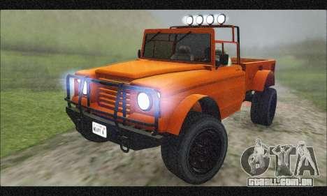 Canis Bodhi (GTA V) (FIV & АПП) para GTA San Andreas interior