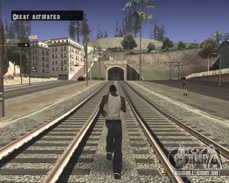 Colormod High Black para GTA San Andreas segunda tela