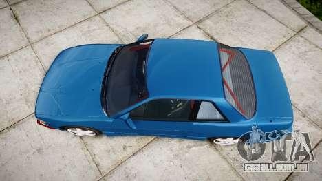 Nissan Silvia S13 Missile para GTA 4 vista direita