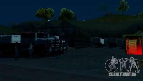 Recuperação de estações de San Fierro País para GTA San Andreas segunda tela