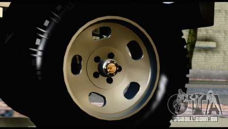 Toyota Land Cruiser Macho Pick-Up 2007 4.500 para GTA San Andreas vista direita