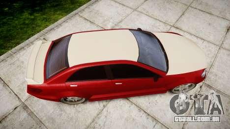 Benefactor Schafter Mercedes-Benz para GTA 4 vista direita