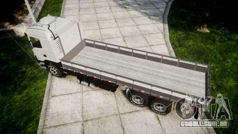 Scania 124G 400 para GTA 4 vista direita
