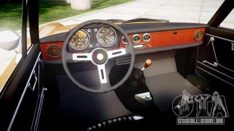 Alfa Romeo Spider 1966 para GTA 4 vista de volta