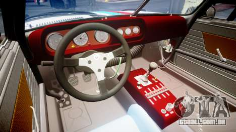 BMW 3.0 CSL Group4 para GTA 4 vista interior