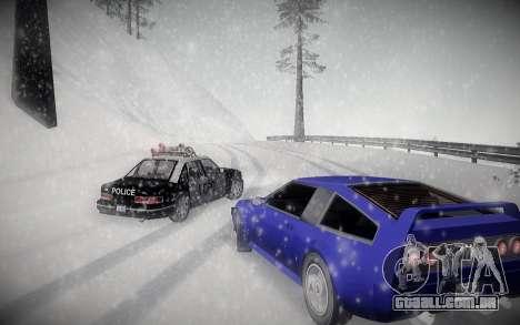 Inverno ENBSeries para GTA San Andreas terceira tela