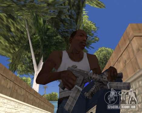HD Weapon Pack para GTA San Andreas quinto tela