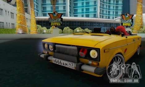 VAZ 2106 Convertible para GTA San Andreas
