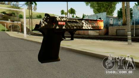 Kill Em All Desert Eagle para GTA San Andreas