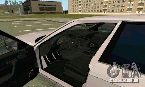 BMW 525 Turbo para GTA San Andreas vista traseira