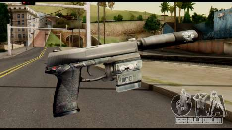 Silenced Socom from Metal Gear Solid para GTA San Andreas segunda tela