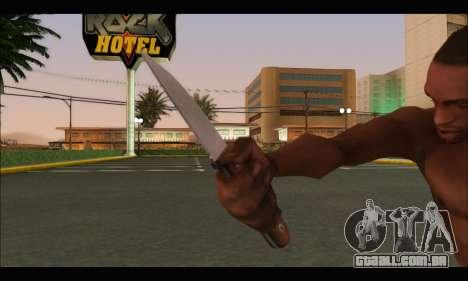 Faca romeno CR1 para GTA San Andreas terceira tela