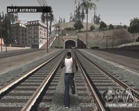 Colormod High Black para GTA San Andreas terceira tela