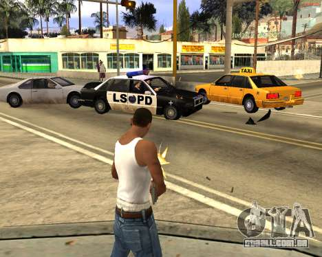 GTA 5 Effects para GTA San Andreas segunda tela