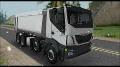 Iveco Trakker 2014 Tipper Snow para GTA San Andreas