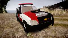 Chevrolet Blazer 2010 Tactical Force [ELS] para GTA 4