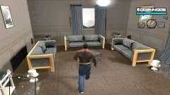 Blue C-HUD para GTA San Andreas