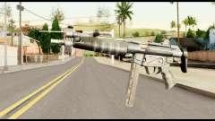 MP5 com o cano Dobrado