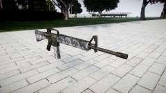 O M16A2 rifle sibéria para GTA 4