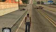 HUD by LMOKO para GTA San Andreas