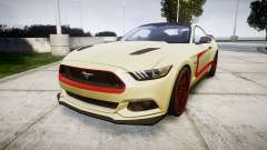 Ford Mustang GT 2015 Custom Kit red stripes para GTA 4