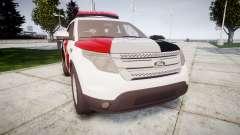 Ford Explorer 2013 Police Forca Tatica [ELS] para GTA 4