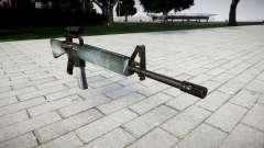 O M16A2 rifle [óptica] gelada para GTA 4