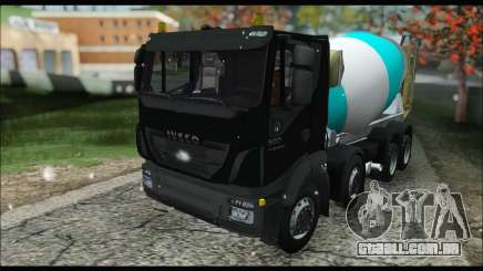 Iveco Trakker 2014 Concrete Snow (IVF & ADD) para GTA San Andreas