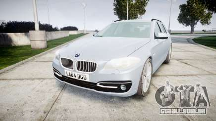 BMW 525d F11 2014 Facelift [ELS] Unmarked para GTA 4