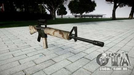 O M16A2 rifle [óptica] saara para GTA 4