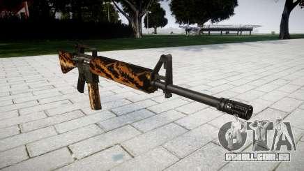 O M16A2 rifle tigre para GTA 4