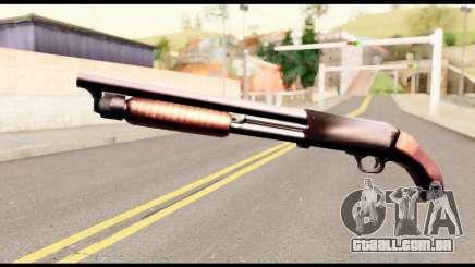 M37 from Metal Gear Solid para GTA San Andreas