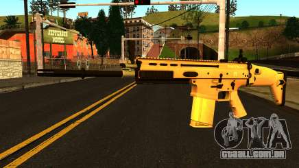 FN SCAR-H from Medal of Honor: Warfighter para GTA San Andreas