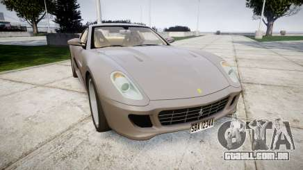 Ferrari 599 GTB 2006 Hamann para GTA 4