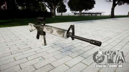 O M16A2 rifle [óptica] yukon para GTA 4